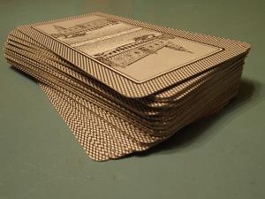 Stok Italiaanse speelkaarten, carte Trevisane