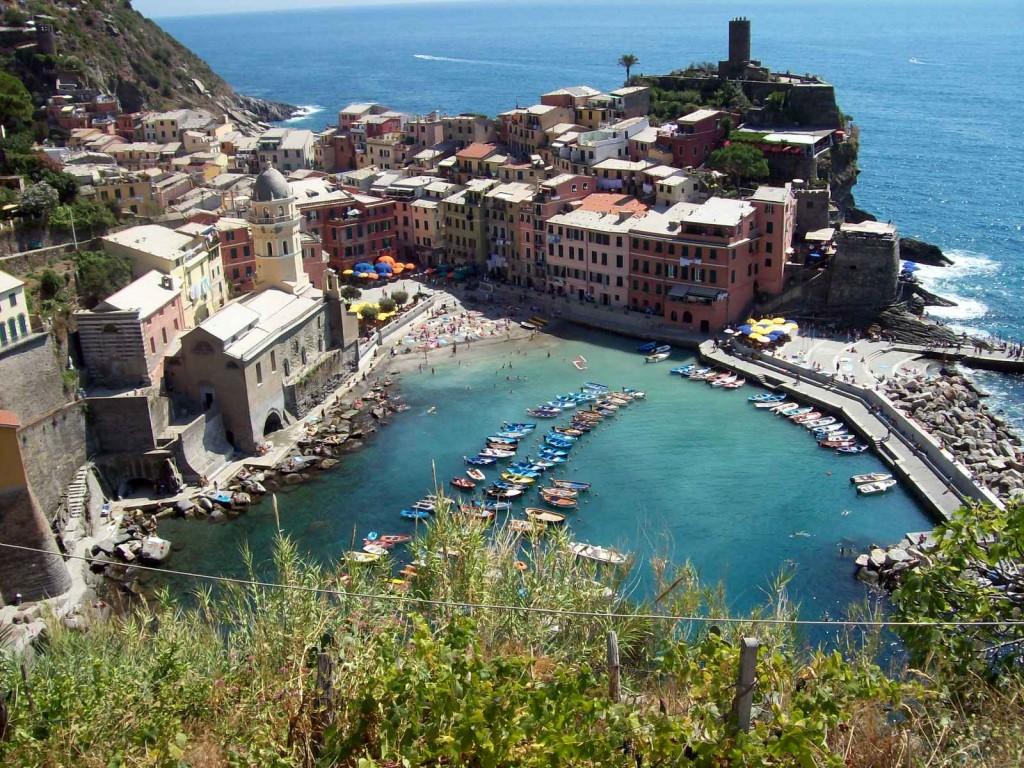 Cinque Terre, foto gemaakt door Saskia Peverelli