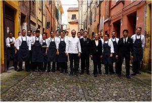 Het team van het beste restaurant ter wereld: Osteria Francescana van Massimo Bottura