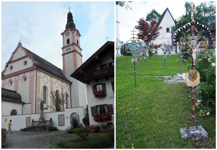 De kerk van Flintsbach, copyright Claudia Zanin