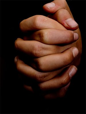 gelovigen bidden