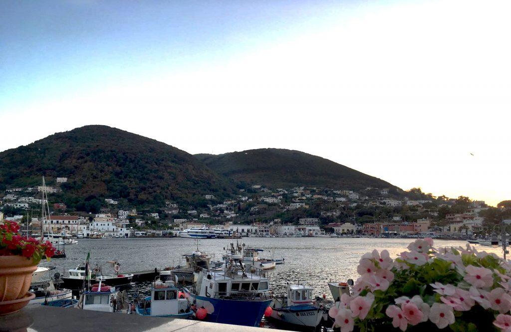 Uitzicht op Ischia