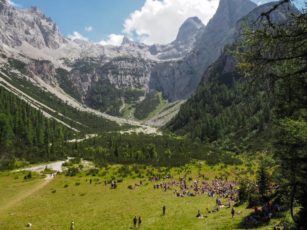 De locatie van dit concert van de Suoni delle Dolomiti © Claudia Zanin