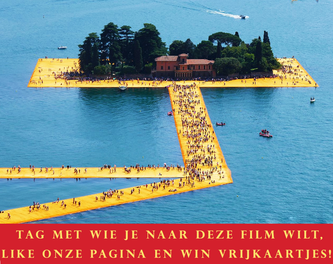 win vrijkaartjes voor documentaire Christo: walking on water