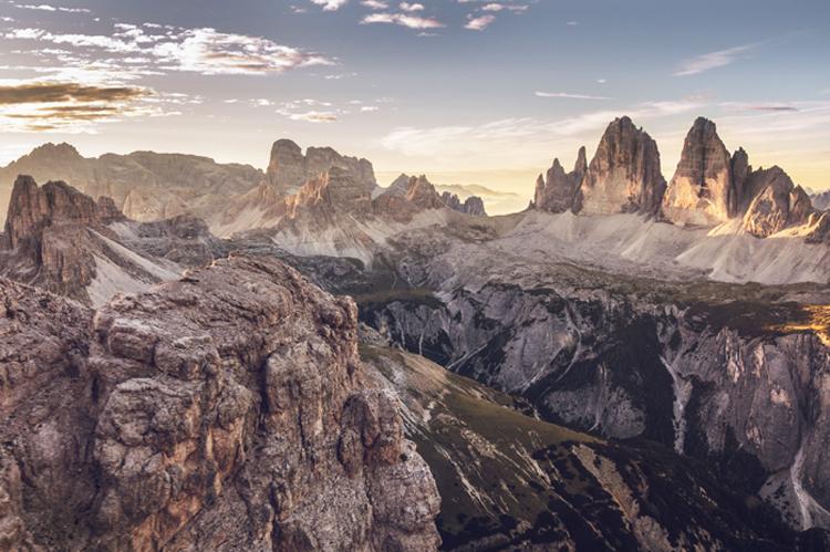 hoge bergtoppen zuid tirol