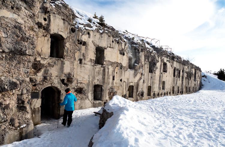 Sneeuwschoen wandelen Folgaria