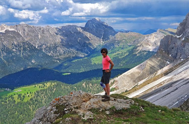 Val Gardena bergwandelen zomer 2019