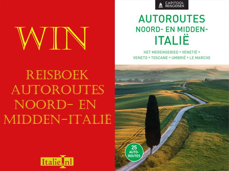 Win een exemplaar van Autoroutes Noord- en Midden Italië