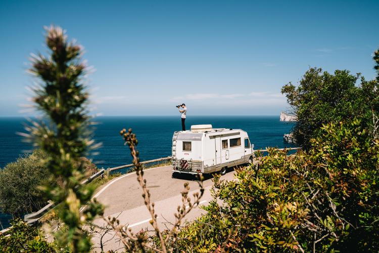 Met de camper door Italie © Goboony