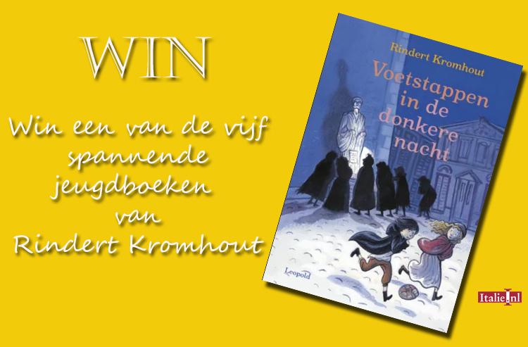 Win 'Voetstappen in het donker' van Rindert Kromhout
