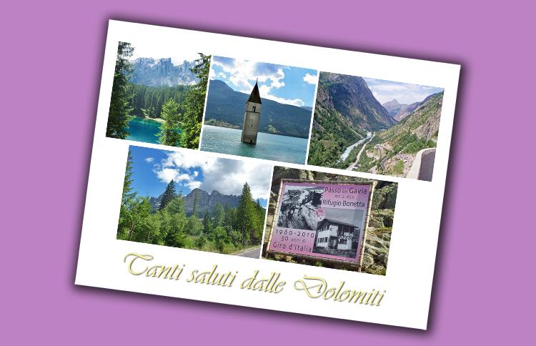 Tanti saluti dalle Dolomiti