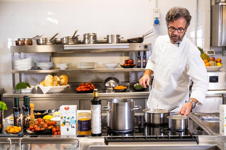 Carlo Cracco in de keuken