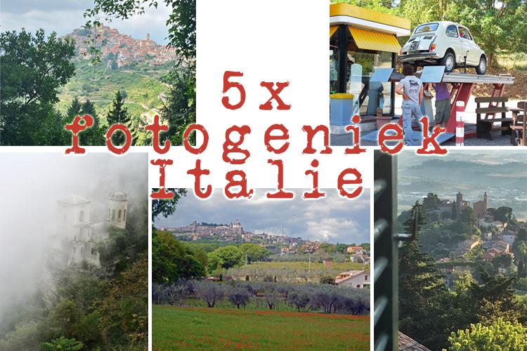 5 x fotogeniek  italie